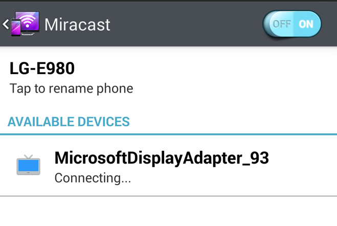 miracast-connect