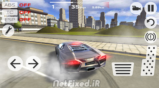 بازی Extreme Car Driving Simulator